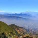 Champadevi view from the top